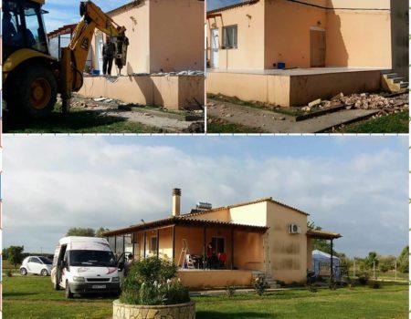 Προσθήκη κατ' επέκταση και καθ' ύψος κατοικίας